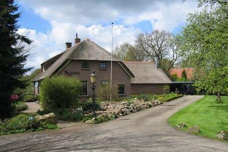 rietgedekt droomhuis - Ház