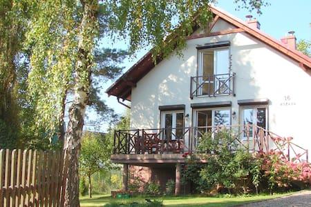 Dom nad jeziorem Lewinko Kaszuby - Maison