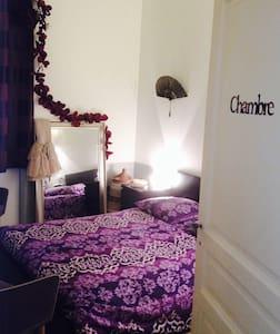 Chambre dans bel appartement centre - Appartement