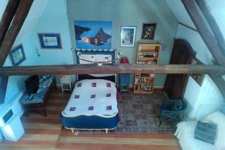 Grande maison ensoleillée/chambre bleue lumineuse - Haus