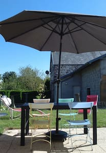 Petite maison avec jardin entre ville/mer/campagne - Anctoville-sur-Boscq - Huis