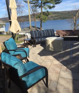"""R"" Lake House on Beautiful Otsego Lake - House"