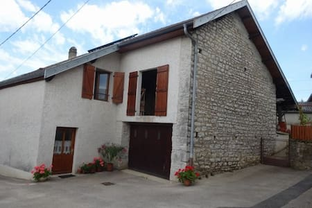 Holiday cottage in Val d'Amour - Mouchard - Appartement