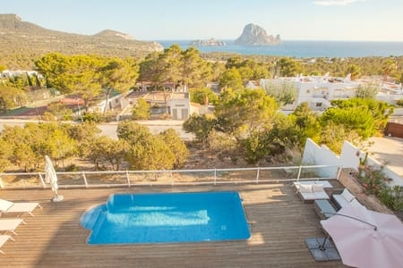 Quiet house pool and the best views - Sant Josep de sa Talaia - House