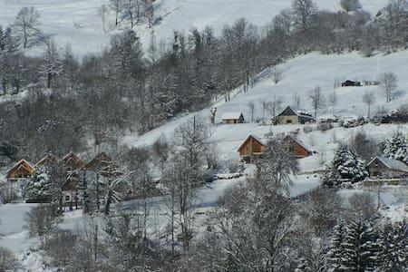 Vue dégagée sur montagne et jardin sans vis à vis - Eaux-Bonnes