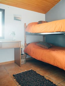 double bedroom in a beautiful stone house - Apartmen