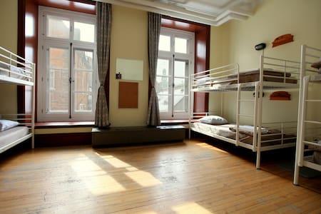 Hébergement en dortoir - Slaapzaal