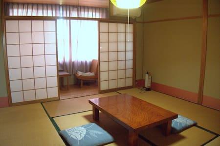 広縁付き8畳和室、眺望良し。See view+Japanese-style room+ Onsen - Bed & Breakfast