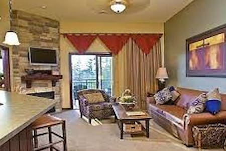 2BR/2BA at Glacier Canyon, Wilderness Resort - Appartement