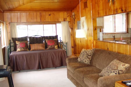 KP's Guest House -- Cozy Cabin with a Lake View - Ludington - Cabin