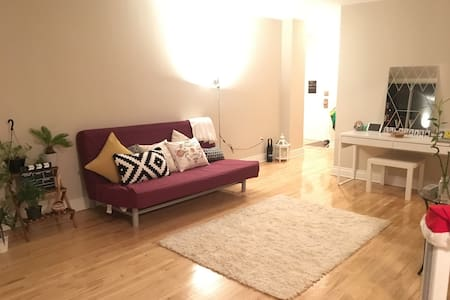 Cozy, Clean & Bright Apartment :) - Montréal - Appartement
