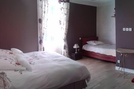 18 min Puy du Fou. Manoir Chambre 2 ou 3 pers - Gästehaus