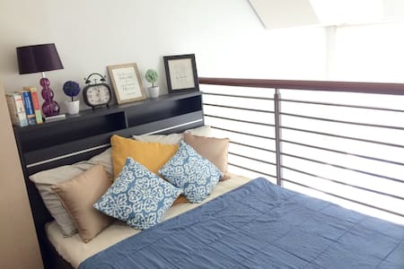 Charming loft in city center - Pasig