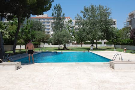 Residential swimming pool & 3 min Arsenal beach - Sometimes - Apartment