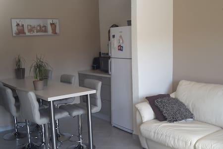 Appartement T3 dans villa avec vue sur jardin - Apartament
