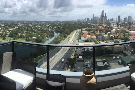 Beautiful, high rise apartment - Broadbeach - Apartment