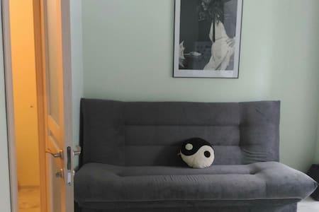 Уютная квартира, два спальных места - Сабурово - Leilighet