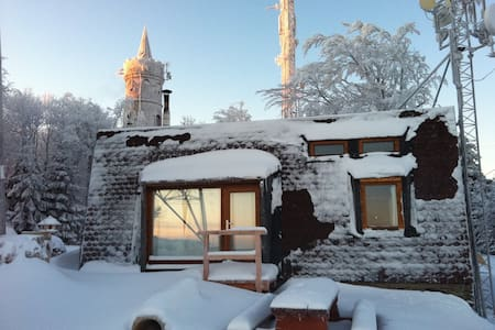 Horská chata na samém vrcholu Jedlové hory - Xalet