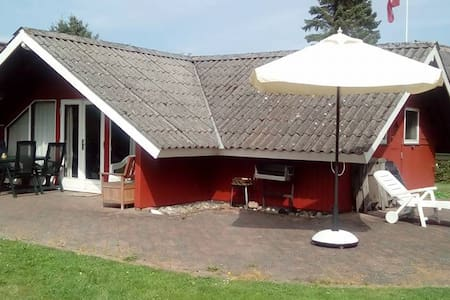 """""""Bakkehuset"""" ved Fredmosen - 200 m. fra vandkanten - Cabin"""