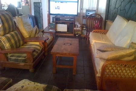 Private room, Double bed. - Ushuaia - Haus