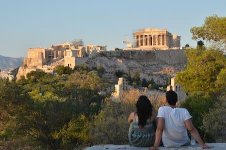 Great apt 15' min walk to Acropolis - Athina