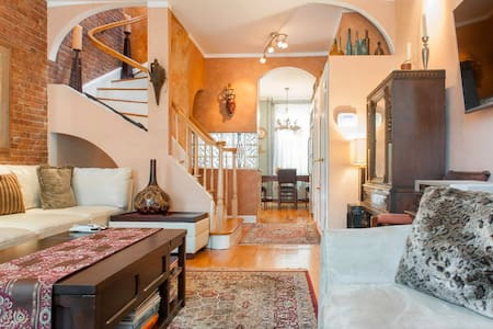 Beautiful Duplex - Minutes from NYC - Jersey City - Apartment