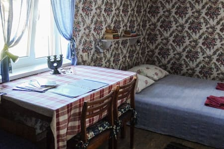 Romantic room in countryside house - Kolka