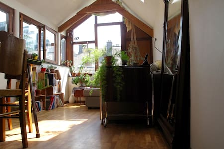 Nice sunny duplex in the heart of Brussels - Bruxelles - Apartment