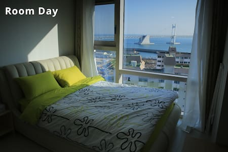 창문이 커서 아침저녁으로 감탄하는 방 - 부산광역시 - Apartament