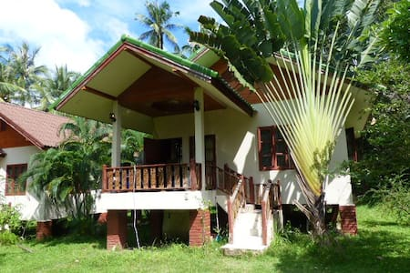 Quiet house in the coconut fields - House