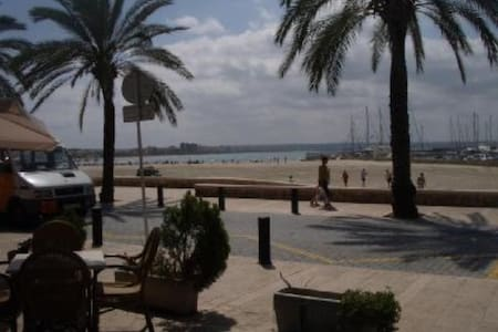 Apartamento tranquilo a 50 m playa (AC y wifi) - Palma - Apartment