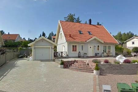 Fint hus med pool, spa och gästhus - Haus