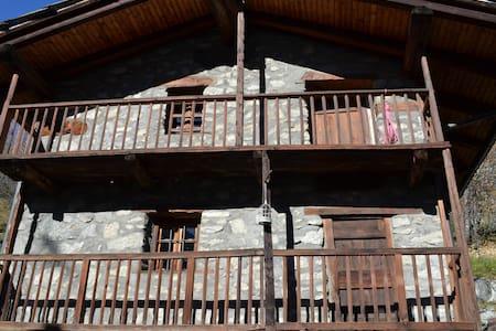 Classic chalet Courmayeur Entrèves - Blockhütte