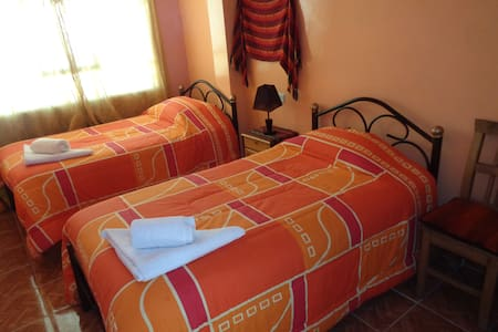 double room with heating - Uyuni - Oda + Kahvaltı