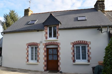 Rural cottage near Josselin, Brittany, France - House