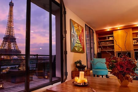 Spectacular loft with direct view on Eiffel Tower - Parigi - Loft