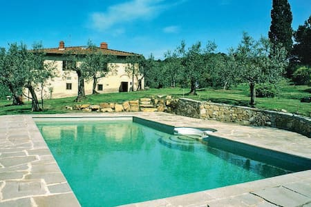 Il Poggiale - Old farmhouse with swimming pool - Figline Valdarno - Casa