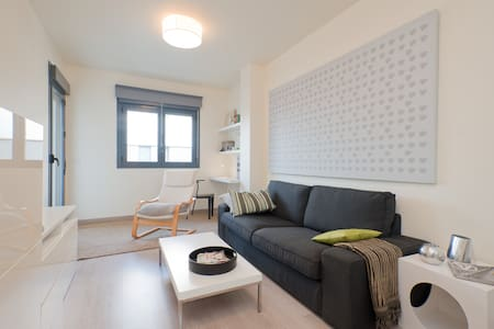 Apart 1 dormitorio con parking - Wohnung