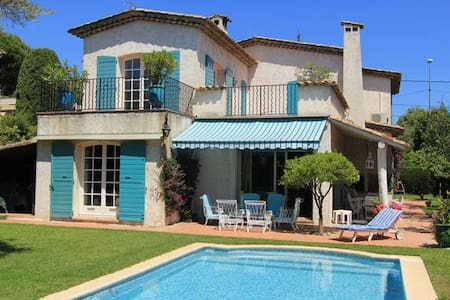 Villa LES OLIVIERS Proche mer - Antibes