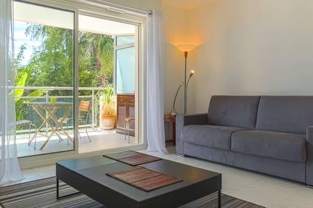 Bel appartamento Piscina + A/C+Parcheggio+Terrazza - Nizza - Appartamento