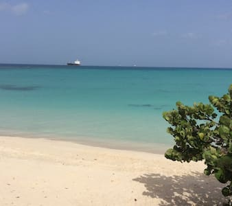 Garden view 2-bedroom apt 45 seconds from beach. - Antigua