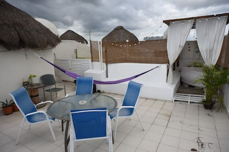 Sunny Room in the heart of Playa - Playa del Carmen - Apartment