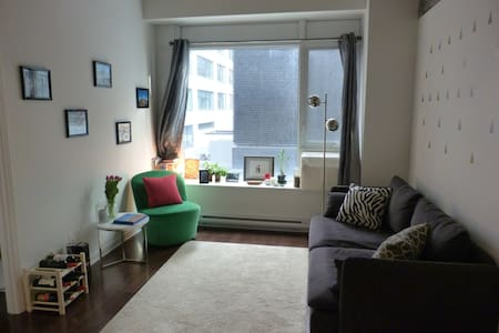 Downtown Cozy and Clean Double room - Apartment