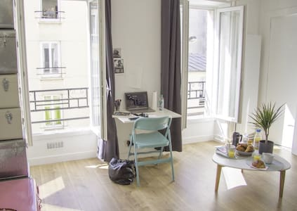 Nice studio in vibrant area Bastille/Republique - Paris - Apartment