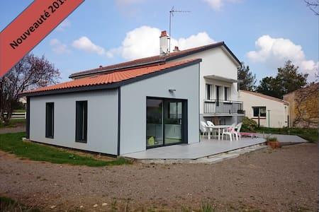 Maison à 12 mn de la plage,proche marais poitevin - Saint-Benoist-sur-Mer - Talo