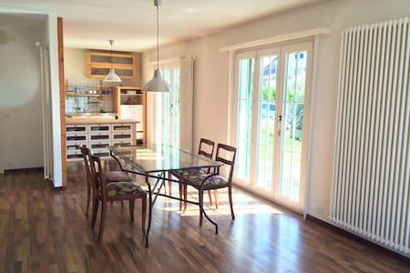Superbe appartement avec jardin à Romanel - Romanel-sur-Lausanne - Apartemen