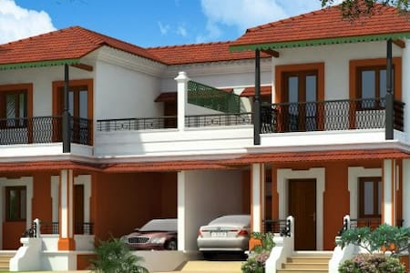 Min. 1 Yr Rent-3BHK Villa in Divar Island Goa