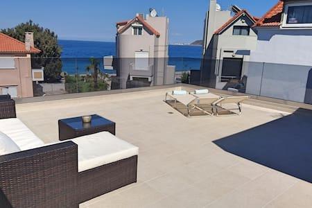 Villa Merrydale with private pool & ocean view - Ialysos - Villa