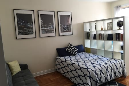 Spacious Room+ Office Prospect Park - Brooklyn - Apartamento