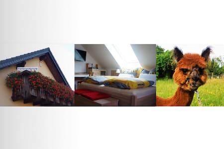 Urlaub mit Alpakas - Tauche - Wohnung